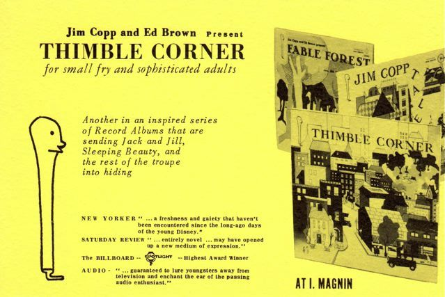 thimble corner announcement