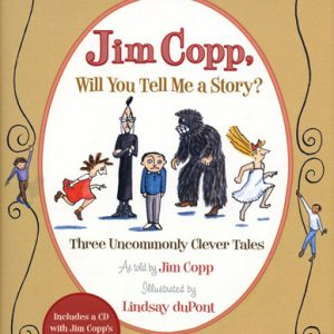 Jim Copp, Will You Tell Me A Story? Book cover and album art